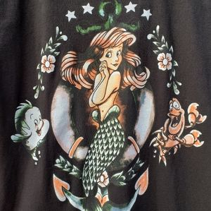 The Little Mermaid Short Sleeve Tee Shirt